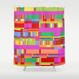 Debussy Little Shepherd (Jelly Bean Colours) Shower Curtain
