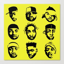 The Almighty Wu Canvas Print
