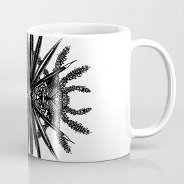 Spider and Palm Leaf Coffee Mug