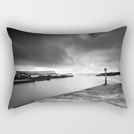 Dunluce castle,Ireland,Northern Ireland,Antrim coast Rectangular Pillow