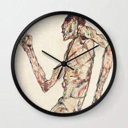 "Egon Schiele ""The Dancer"" Wall Clock"