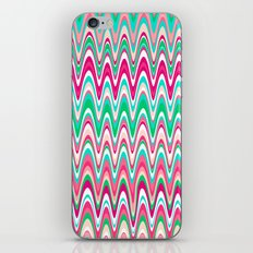 Making Waves Pink and Preppy iPhone Skin