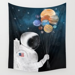 space party Wall Tapestry