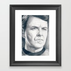 Beam Me Up Scotty (Star Trek TOS) Framed Art Print