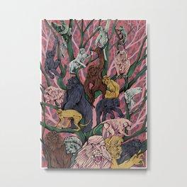 Utopia for Monkeys Metal Print