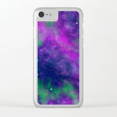Fantasy Milky Way Clear iPhone Case