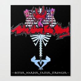 stronger Canvas Print