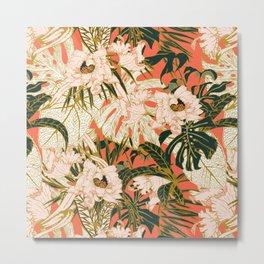 Flowering tropical coral bloom Metal Print