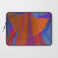 Abstract #430 Sailing Laptop Sleeve