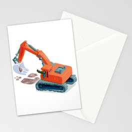 Croco Digger Stationery Cards