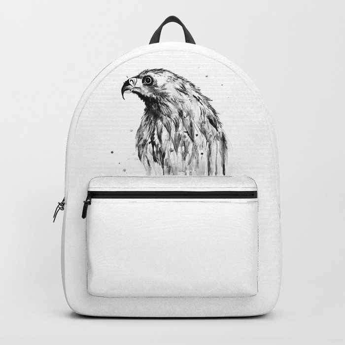 Eagle, black and white Backpack
