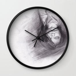 口裂け pls Wall Clock