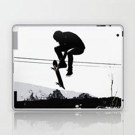 Flying High Skateboarder Laptop & iPad Skin