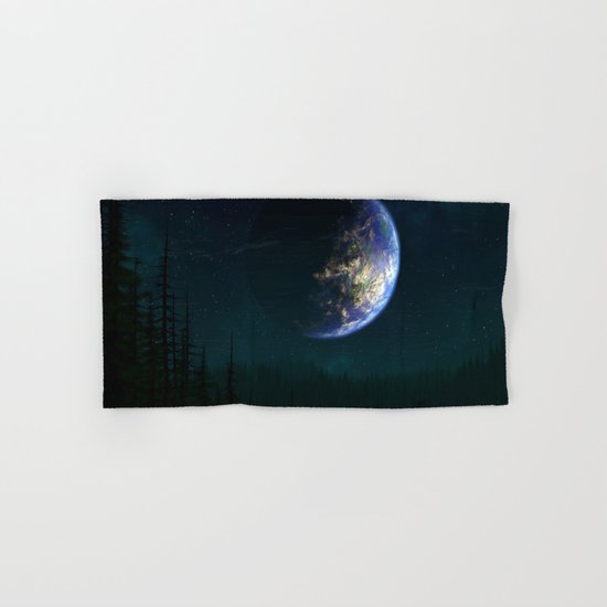 Out of this world #forest Hand & Bath Towel