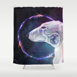 Winter King Shower Curtain