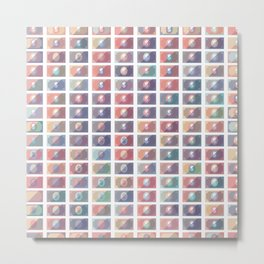 Dollar Pattern 4 Metal Print