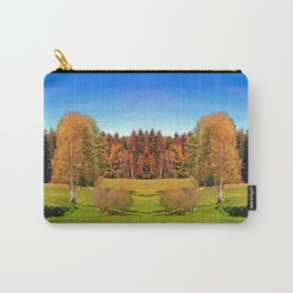 Tree in springtime scenery | landscape photography Carry-All Pouch
