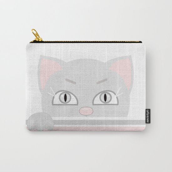 Small kitten. Carry-All Pouch