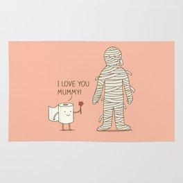 I love mummy Rug