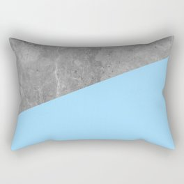 Geometry 101 Blue Raspberry Rectangular Pillow