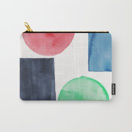 11  | Abstract Geometric | 191015 Carry-All Pouch