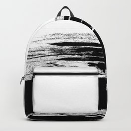 abstract b&w Backpack