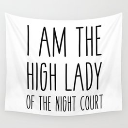 high lady of the night court (acomaf) Wall Tapestry