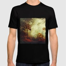 That's not my way - misty woodland Black MEDIUM Mens Fitted Tee