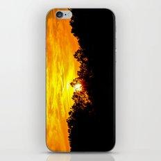 Blazing Sky iPhone & iPod Skin