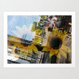 Urban Reflections 2 Art Print