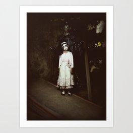 Ghost Girl Art Print