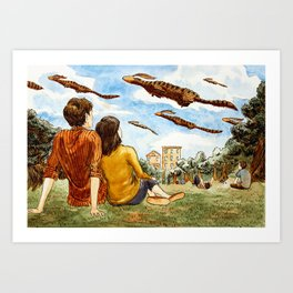 Migration Day Art Print