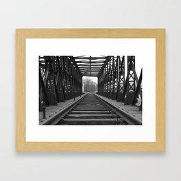 Ourcq Framed Art Print