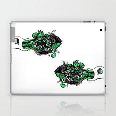the F vomit Laptop & iPad Skin