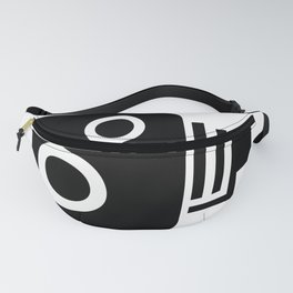 Isolated Speed Camera Fanny Pack