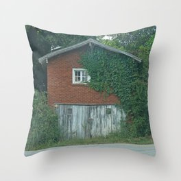 House on the Road Throw Pillow