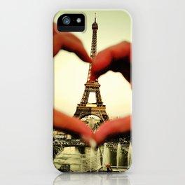 Je t'adore iPhone Case