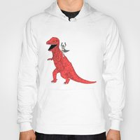 dinosaur Hoodies featuring Dinosaur B Forever by Isaboa