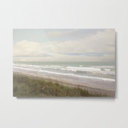Surf City NC Fine Art Photography Metal Print