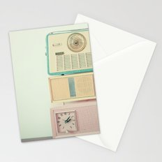 Radio Stations Stationery Cards