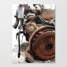 An engine that survives Canvas Print
