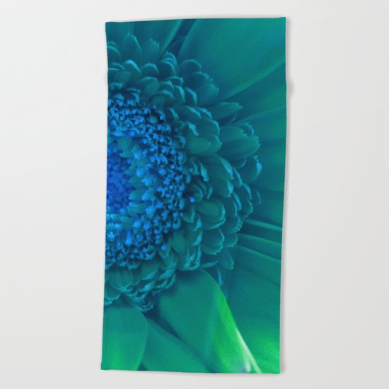 To Be a Different Kind of Flower Beach Towel