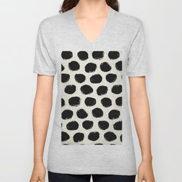Urban Polka Dots Unisex V-Neck