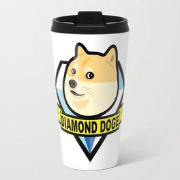 Diamond Doge Travel Mug