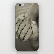 manos trabajadoras iPhone & iPod Skin