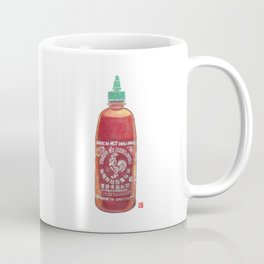Sriracha Hot Sauce Coffee Mug