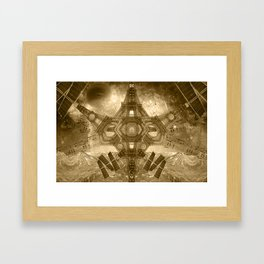 """Outsteller Exploration of Interspace"", by Brock Springstead Framed Art Print"