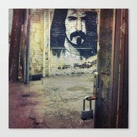 zappa Canvas Prints featuring Zappa by Litew8