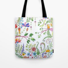 Bucolic forest Tote Bag