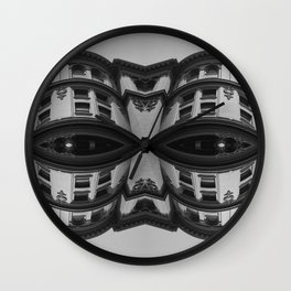 Facade II Wall Clock